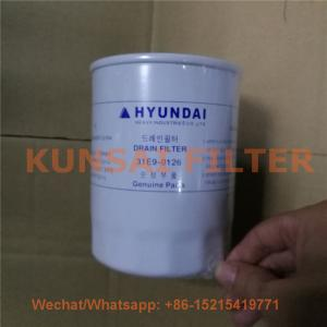 Hyundai hydraulic filter 31E9-0126