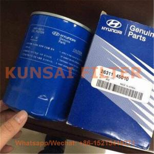 Hyundai oil filter 26311-45010