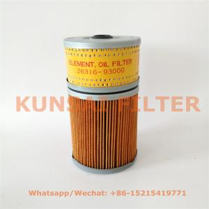 Hyundai oil filter 26316-93000
