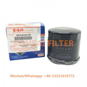 SUZUKI oil filter 16510-61J00 16510-81400 16510-81402 96565412 15601-87208